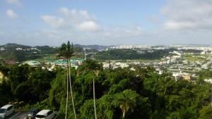 沖縄の朝。