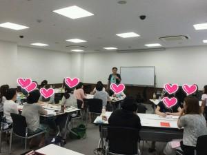 2015/8大阪での自信のワークショップの光景