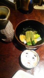 この酢味噌(ぬた)が最高だった。
