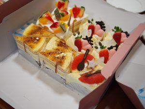 今回のケーキ①