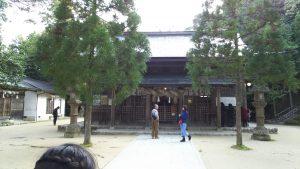 玉造湯神社本殿