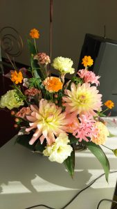 今回会場を彩ってくれたお花。