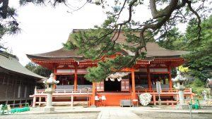日御碕神社・日沈宮(ひしずみのみや)
