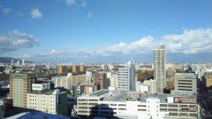 ホテルからの眺め(北側)